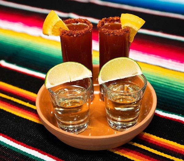 Three mariachis